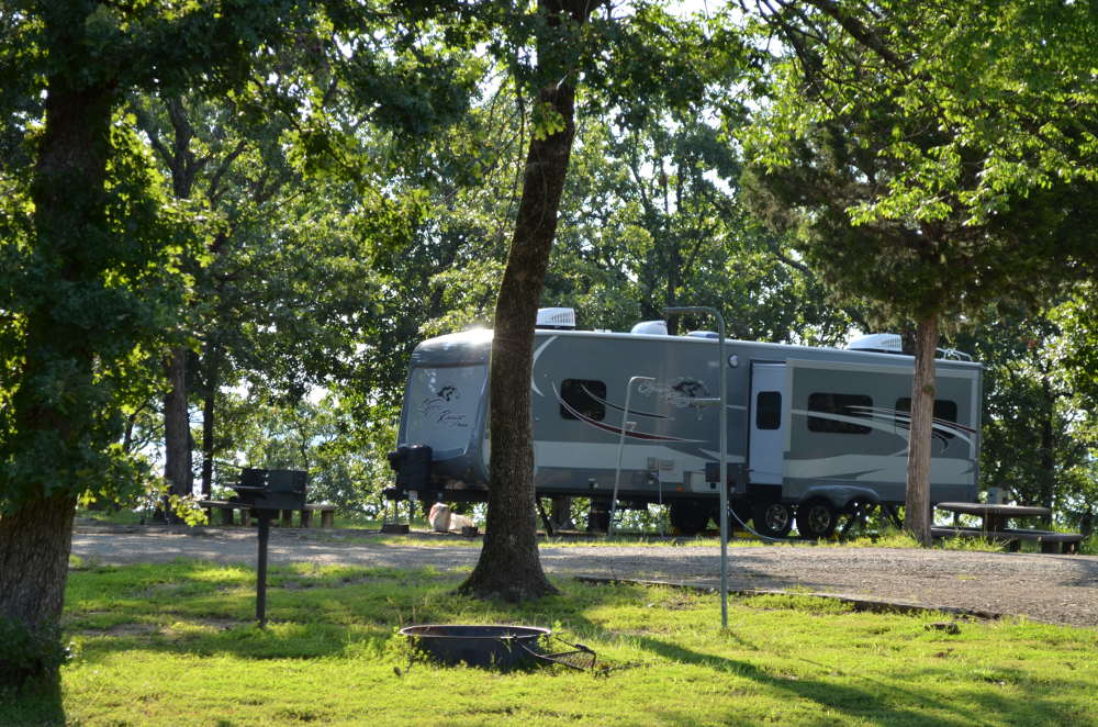 State parks in oklahoma with rv hookups in big